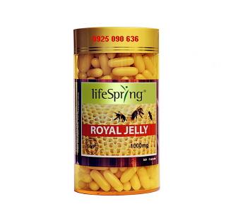 sua-ong-chua-life-spring-royal-jelly 1000mg