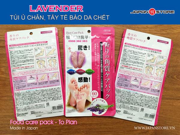 Túi ủ tẩy tế bào da chết Lavender, hương hoa Lavender Foot Care Pack To Plan (3)
