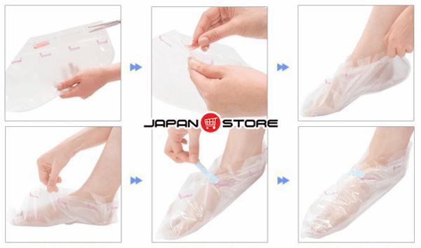 Túi ủ tẩy tế bào da chết Lavender, hương hoa Lavender Foot Care Pack To Plan (4)