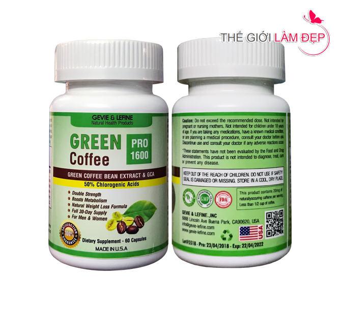 Green Coffee Pro 1600 - 101