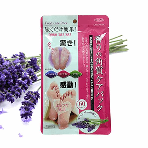 Túi ủ tẩy tế bào da chết Lavender, hương hoa Lavender Foot Care Pack To Plan 5